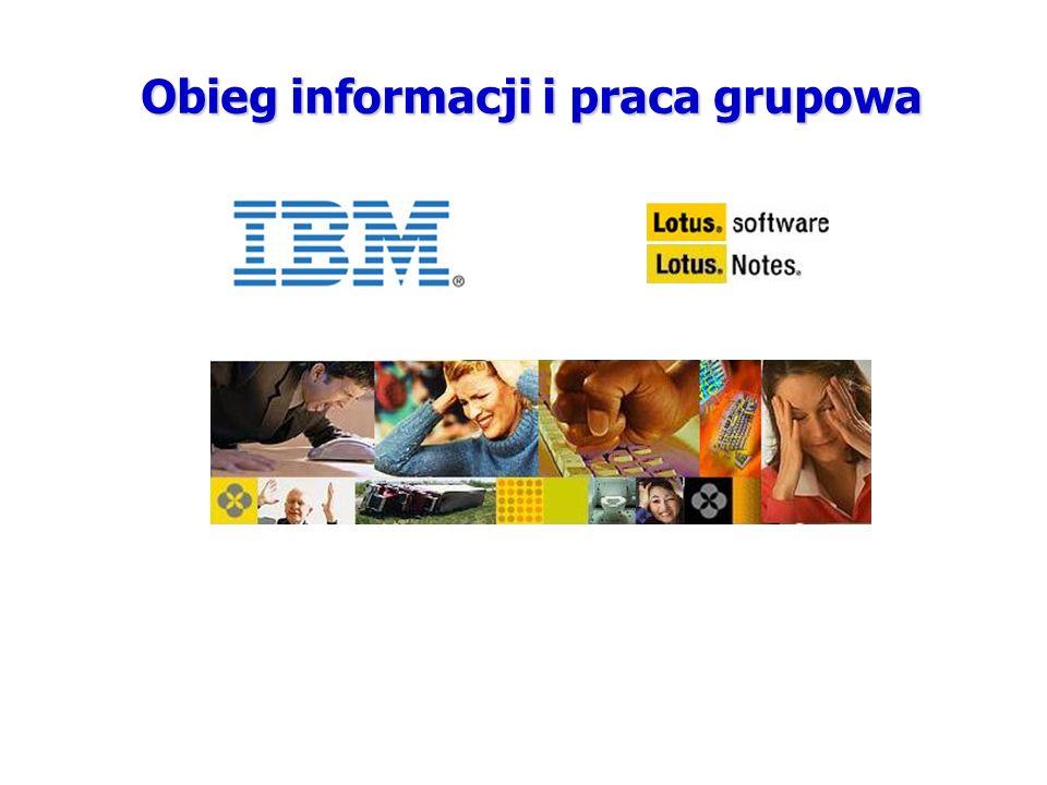 Obieg informacji i praca grupowa