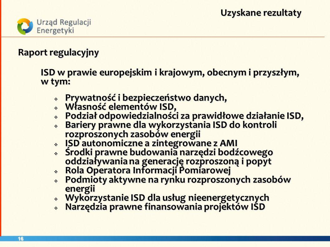 17 Domknięcie panoramy rozwiązań kluczowych dla wdrożenia Inteligentnych sieci w Polsce (OIP – AMI – ISD) Podsumowanie Rekomendacje dla przyszłych działań Unikalna koncepcja skonfigurowania architektury elementów ISD w sposób efektywny ekonomicznie, w oparciu o znane klientowi elementy jego dotychczasowego wyposażenia Unikalna koncepcja zautomatyzowania odpowiedzi rozproszonego popytu na sygnały rynkowe Potwierdzenie atrakcyjności ekonomicznej wdrożenia, ze wskazaniem warunków krytycznych i ryzyk