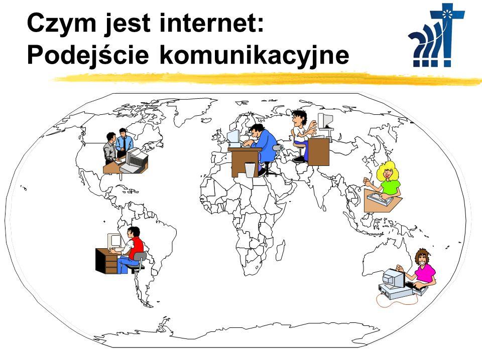 Czym jest internet: Podejście medialne Odpowiedź redaktora: Internet jest nowym, bardzo wygodnym medium służącym przekazywaniu treści.