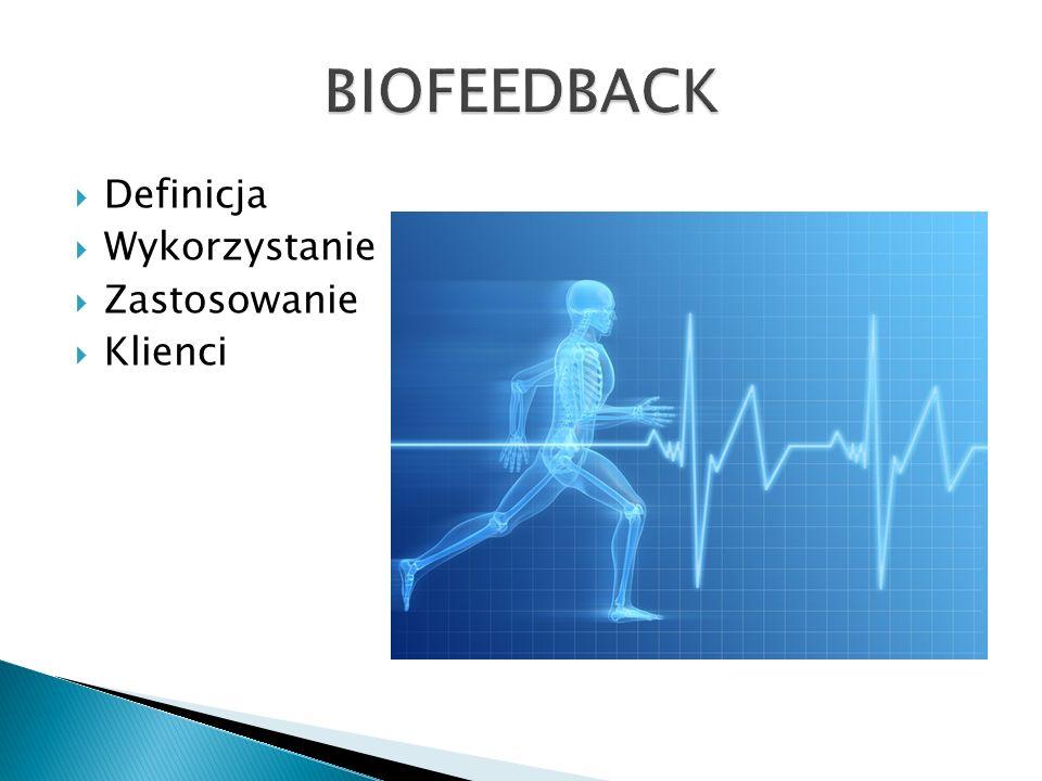 Biofeedback, biologiczne sprzężenie zwrotne – dostarczanie człowiekowi informacji zwrotnej (feedback) o zmianach jego stanu fizjologicznego.