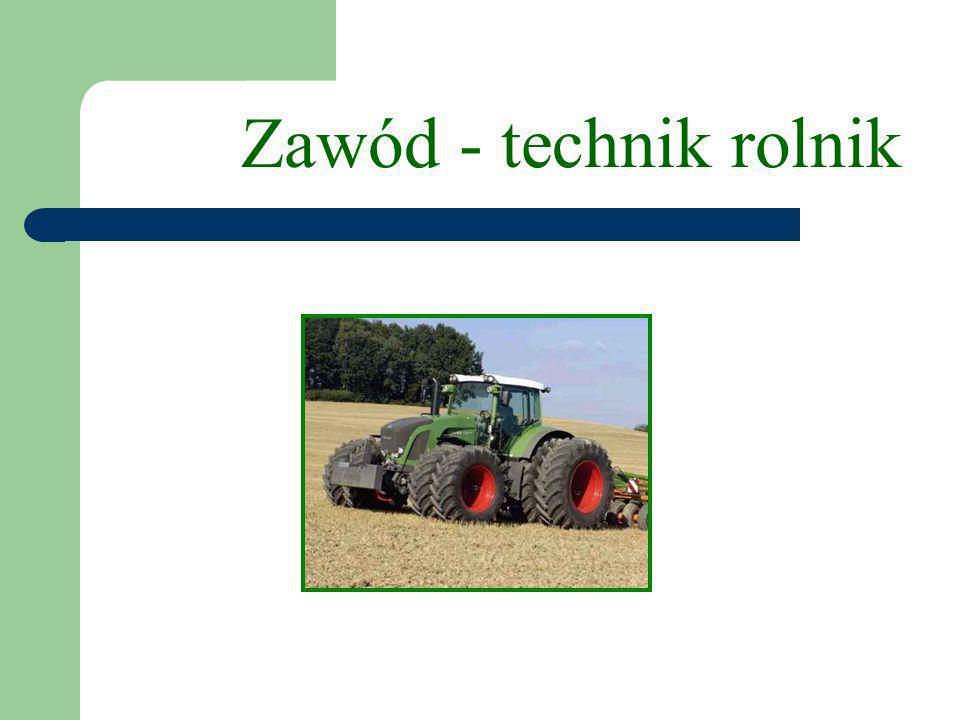 Zawód - technik rolnik