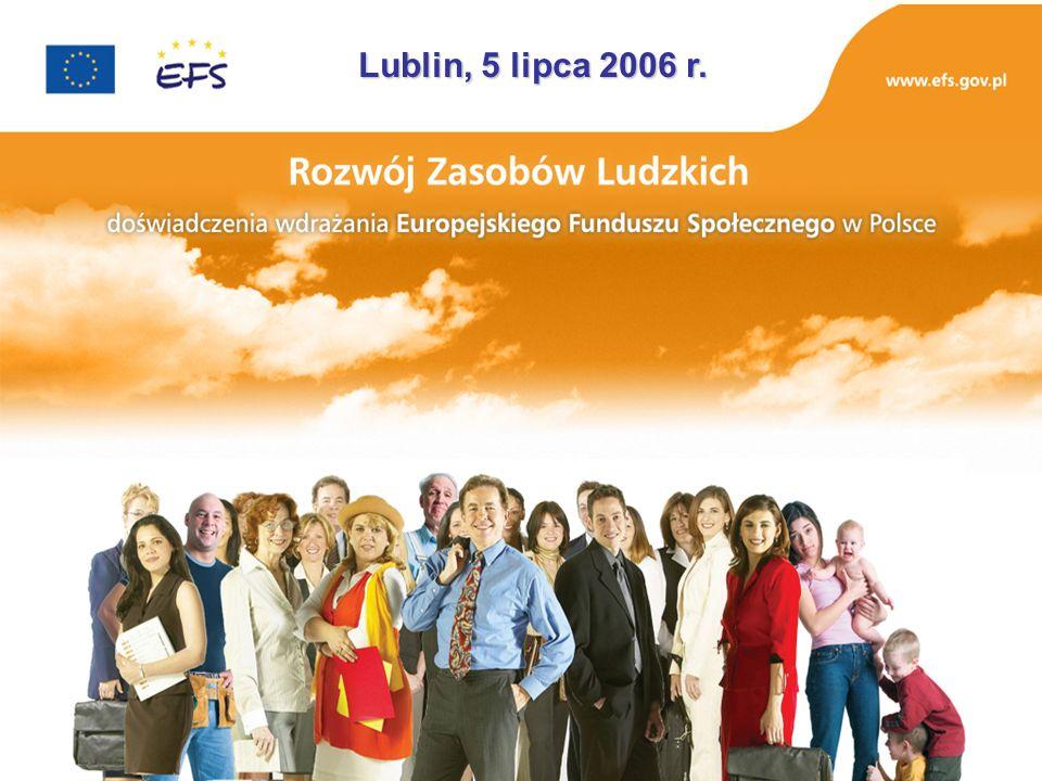 Katarzyna Kromke-Korbel Departament Zarządzania EFS Ministerstwo Rozwoju Regionalnego Doświadczenia wdrażania Europejskiego Funduszu Społecznego w Polsce