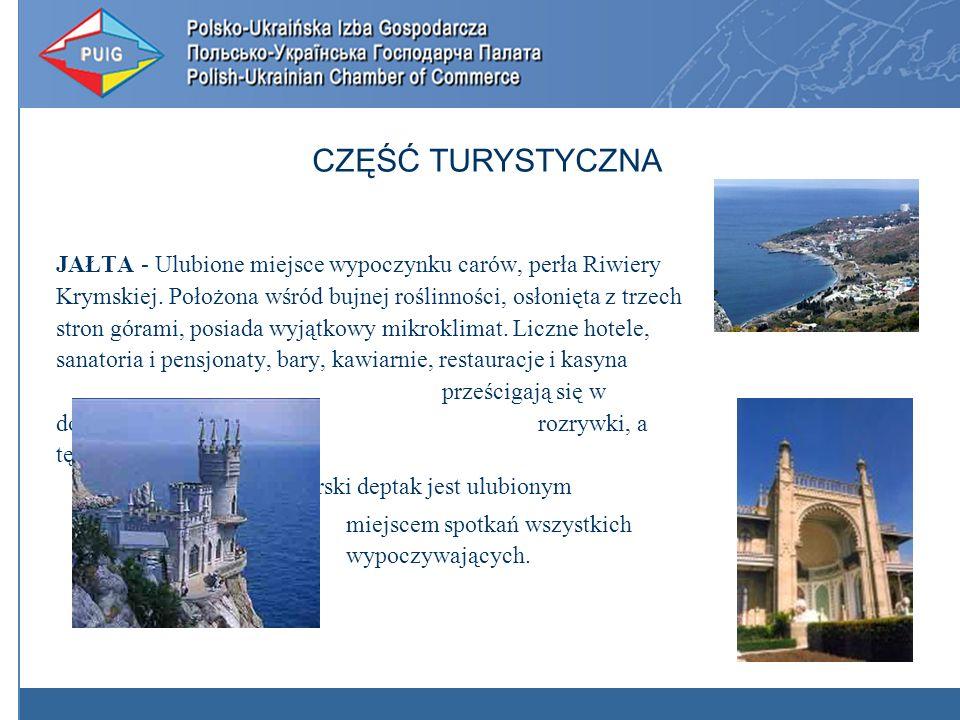 JAŁTA - Ulubione miejsce wypoczynku carów, perła Riwiery Krymskiej.