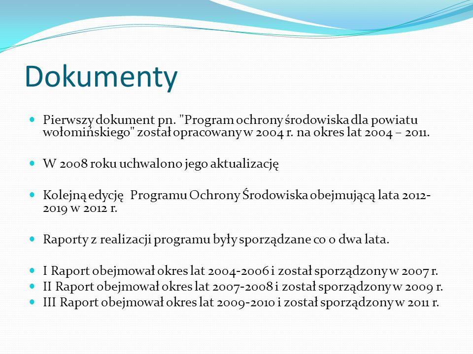Dokumenty Pierwszy dokument pn.
