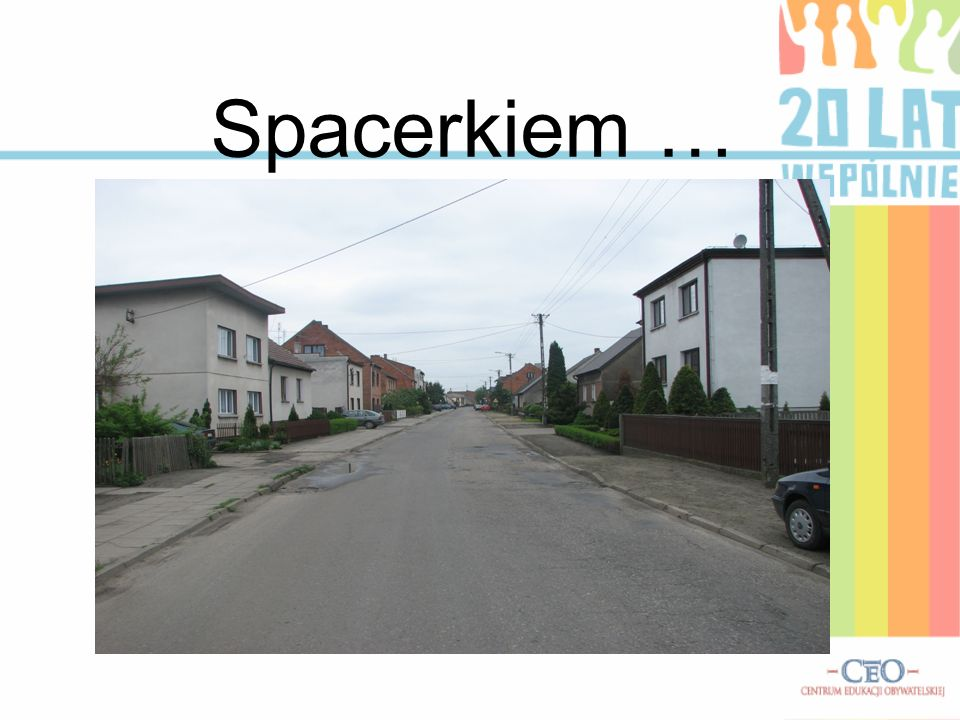 Spacerkiem ….