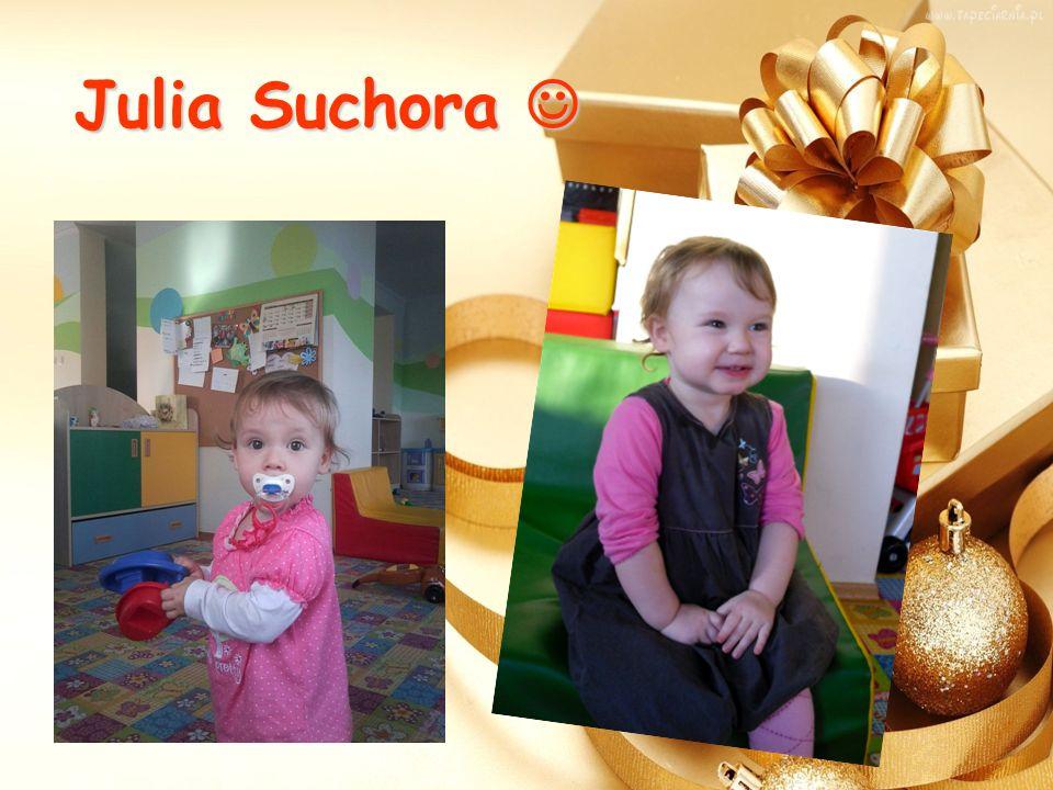 Julia Suchora Julia Suchora