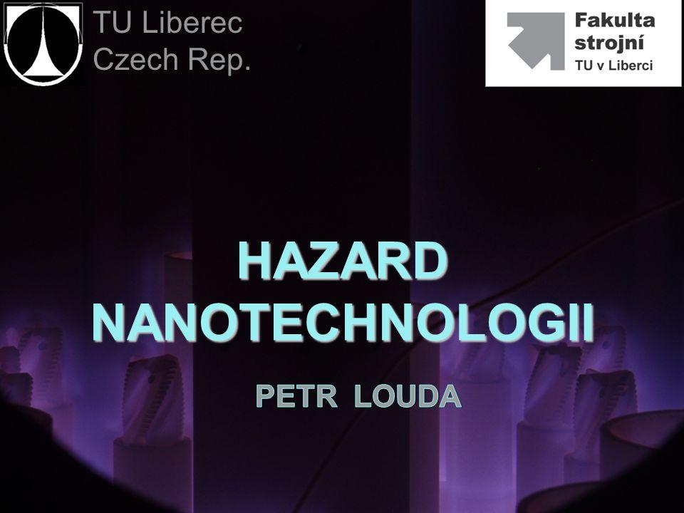 Ryzyka nanotechnologii Nanomateriały zachowują się zupełnie inaczej kdy tworzą jedną wielką część – charakteryzują się nowymi funkcjami.