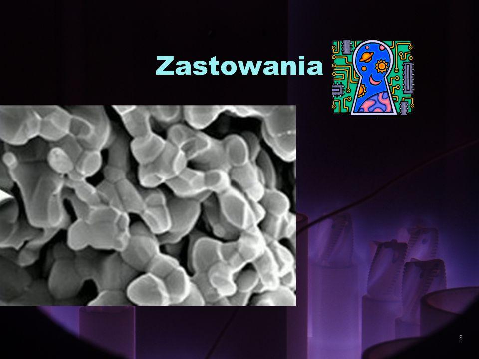 selektywne dostarczanie leku sztuczne stawy, zastawki sztuczna tkanka roztwory dezynfekujące kremy ochronne instrumentarium - nanoroboty 19/49 Zastosowanie nanotechnologii w medycynie 9