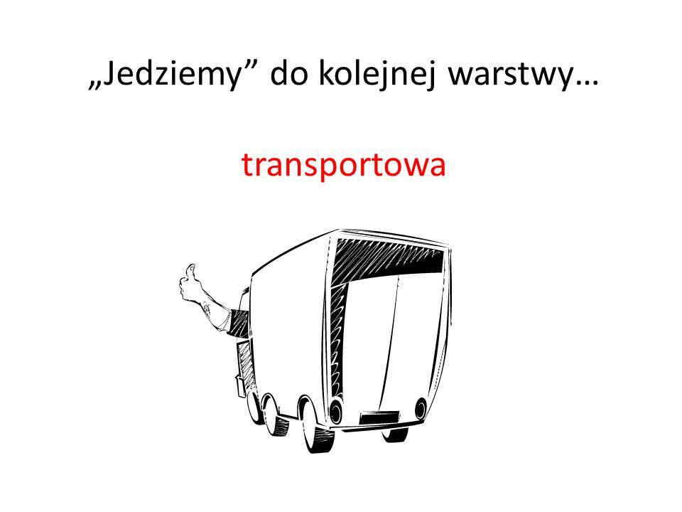 Jedziemy do kolejnej warstwy… transportowa