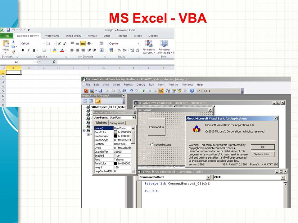 MS Excel - VBA