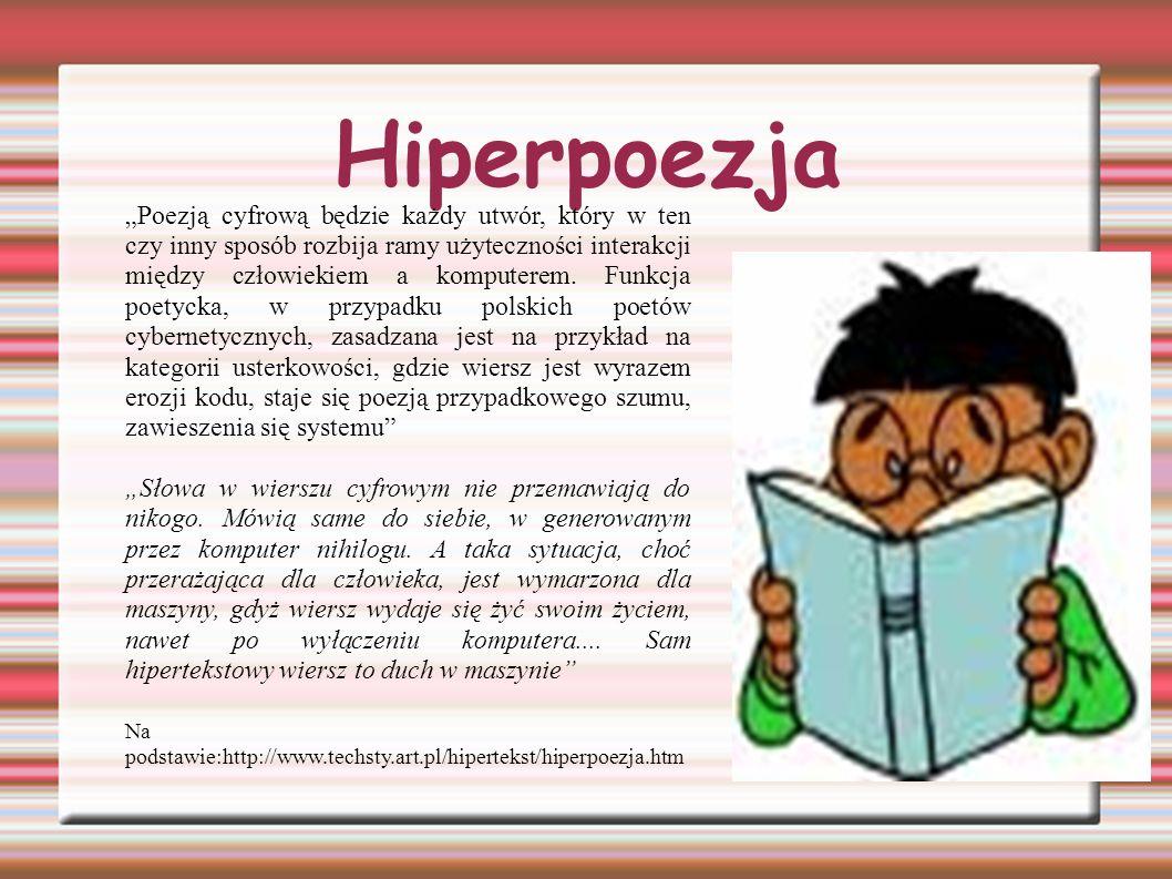 Polska poezja hipertekstowa