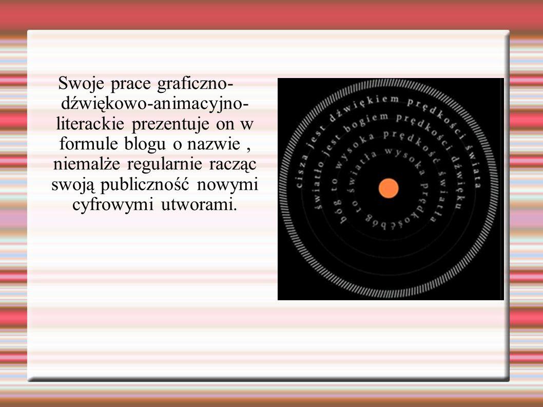 Bibliografia: http://artpapier.com/?pid=2&cid=1&aid=966 Http:/bromboxy.proarte.net.pl http://szafranchinche.blogspot.com/ http://artpapier.com/?pid=2&cid=1&aid=966 http://www.techsty.art.pl/hipertekst/hiperpoezja.htm www.kul.pl/files/154/Dziak/TI/literatura...6/hiperpoezja.ppt