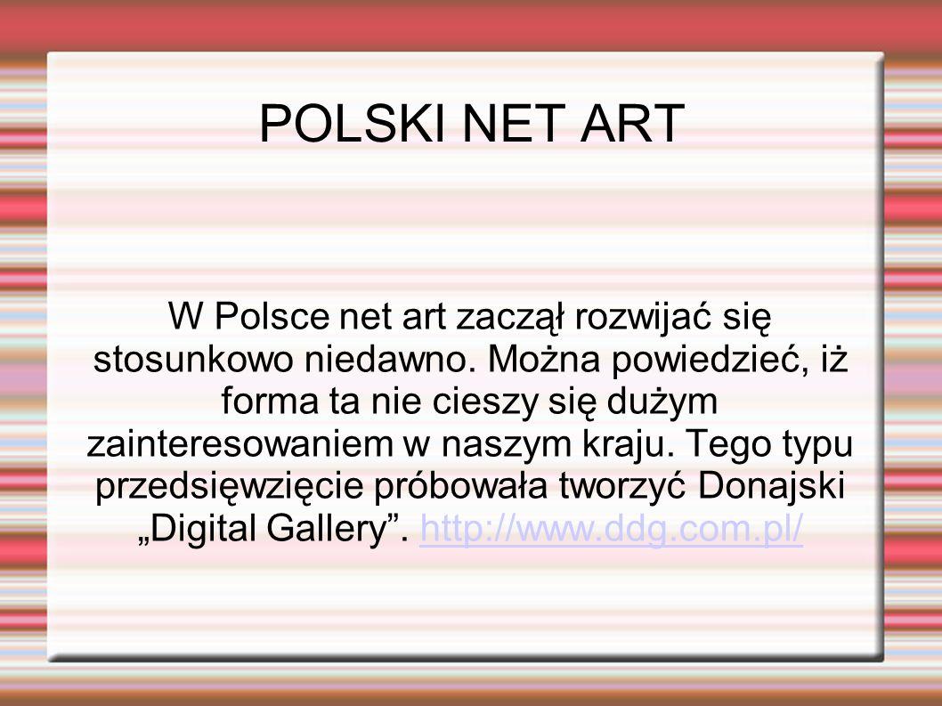 Również w Polsce niestety stosunkowo rzadko, powstają tego typu projekty internetowe.