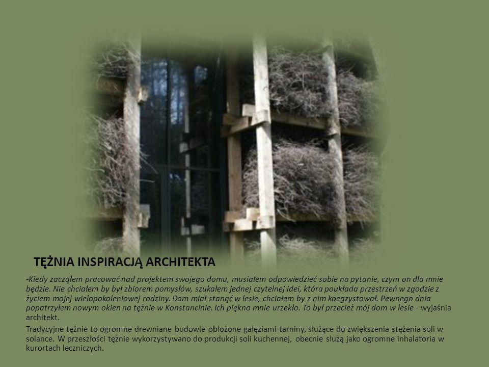 WCIELENIE IDEI W RZECZYWISTOŚĆ Dom został zbudowany według bardzo prostej zasady.