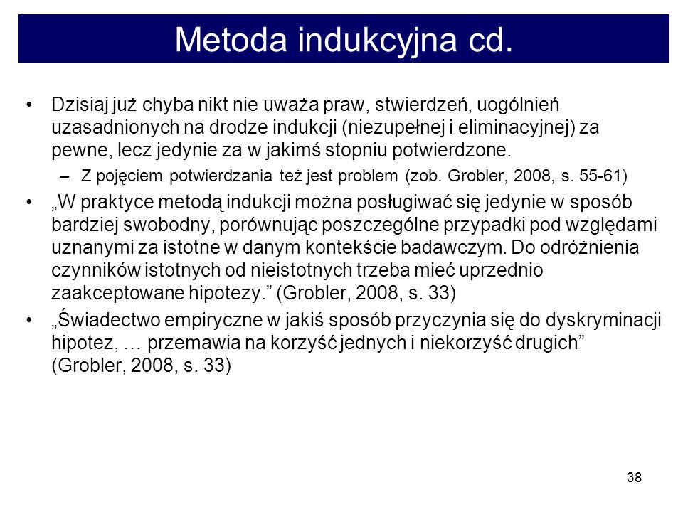 38 Metoda indukcyjna cd.