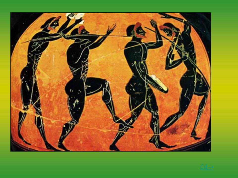 Biegi Najstarszą dyscypliną starożytnych Igrzysk był bieg krótki na dystansie jednego stadionu.