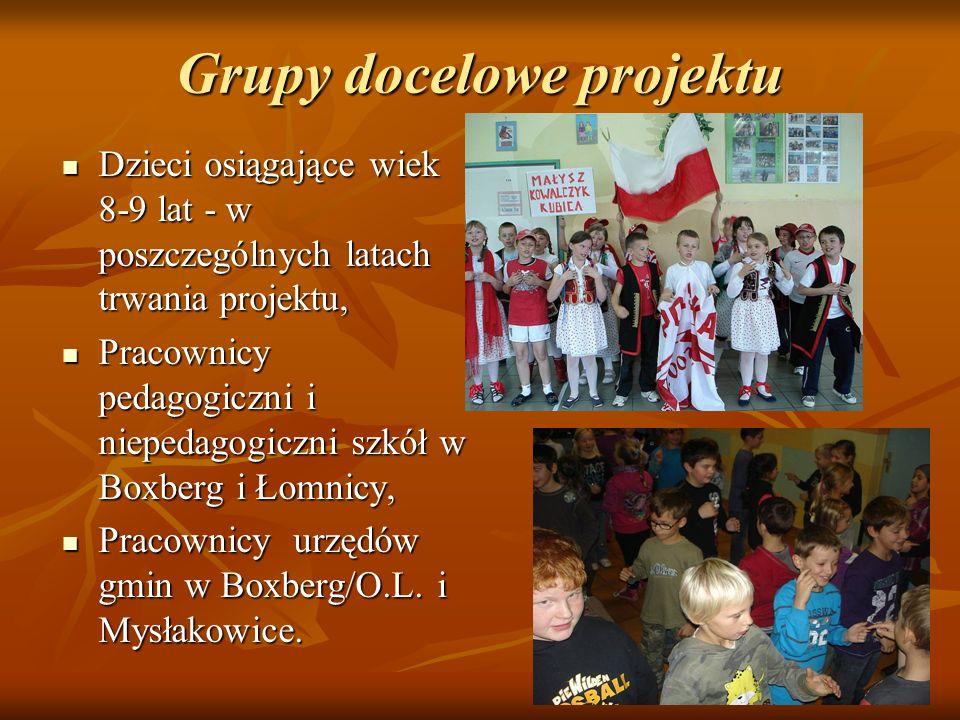 Grupy docelowe projektu Dzieci osiągające wiek 8-9 lat - w poszczególnych latach trwania projektu, Dzieci osiągające wiek 8-9 lat - w poszczególnych l