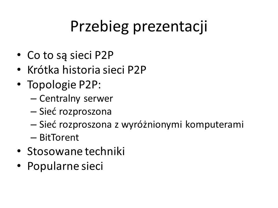 Sieci P2P