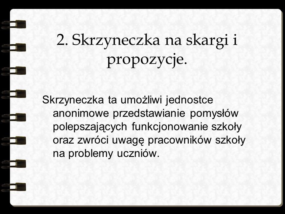 3.Wznowienie redagowania szkolnej gazetki.