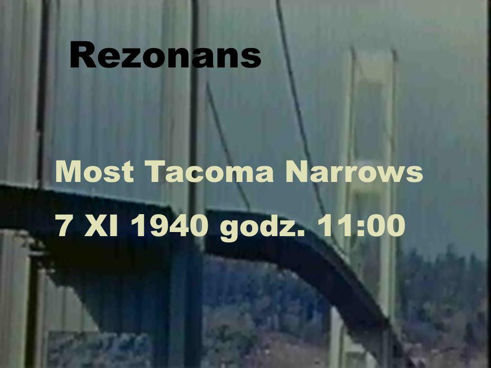 Fizyka dźwięku21 Rezonans Most Tacoma Narrows 7 XI 1940 godz. 11:00