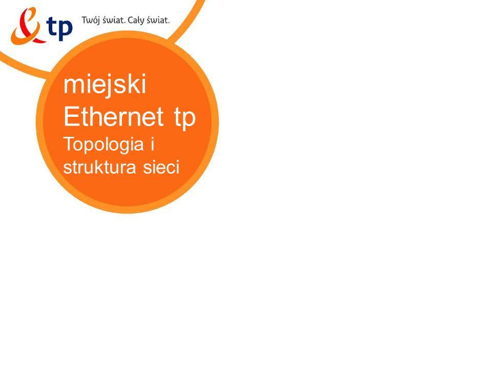 11 miejski Ethernet tp Topologia i struktura sieci