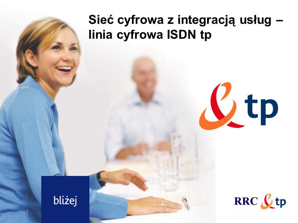4 Dotyczy: ISDN Prezentacja produktu Nazwa produktu: linia cyfrowa ISDN tp Właściwości: zapewnia transmisję w postaci cyfrowej na każdym odcinku połączenia - także między lokalizacją Klienta a centralą TP; Podstawowe wymagania: lokalizacja Klienta powinna znajdować się nie dalej niż 5-7 km od centrali zamontowanie zakończenia sieciowego u Klienta zbudowanie sieci telefonicznej przez Klienta (opcjonalne)