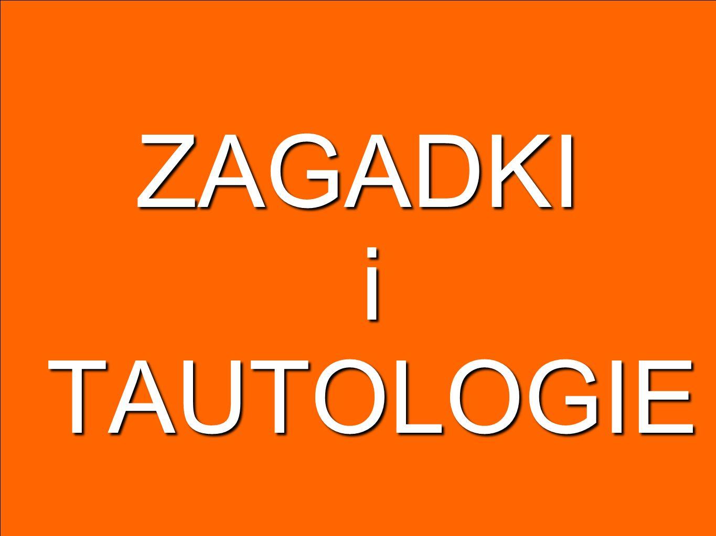 tautologie negacyjno-implikacyjne~, ~~p pprawo podwójnego przeczenia p ~~pprawo podwójnego przeczenia (p q) (~q ~p)prawo kontrapozycji (~p ~q) (q p)prawo kontrapozycji (p q) ((p ~q) ~p) (p q) ((~p q) q) p (~p q)prawo przepełnienia TAUTOLOGIE KRZ