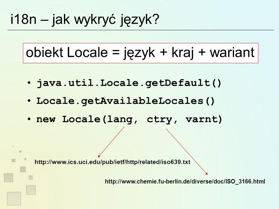 O niepoprawnych programach… Jedyny wątek, który ma prawo wpływać na GUI to EventDispatchingThread SwingUtilities.isEventDispatchThread() frame.setSize(200,200); frame.pack(); frame.show(); // CONCURRENT ACCESS TO SWING.