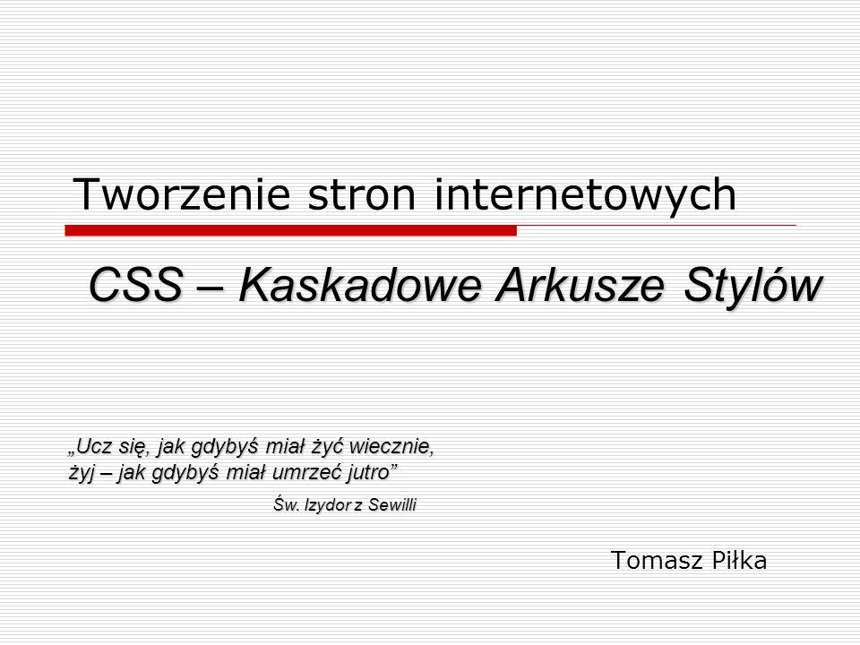 Kaskadowe Arkusze Stylów (ang.