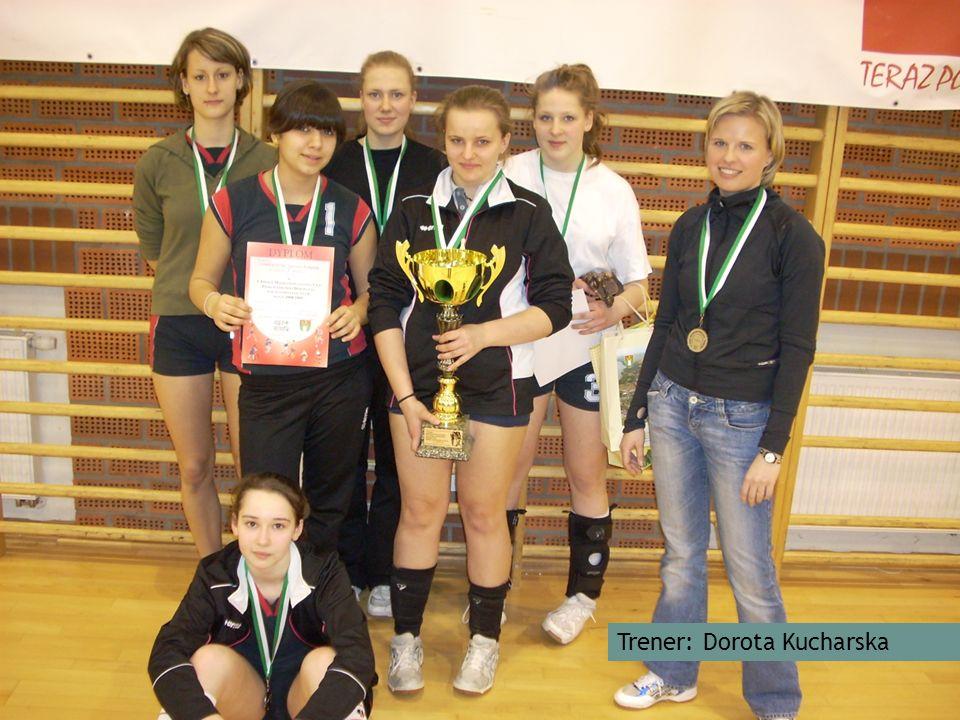 II miejsce w Finale Międzypowiatowej Ligi Piłki Siatkowej Dziewcząt Szkół Gimnazjalnych Trener: Dorota Kucharska