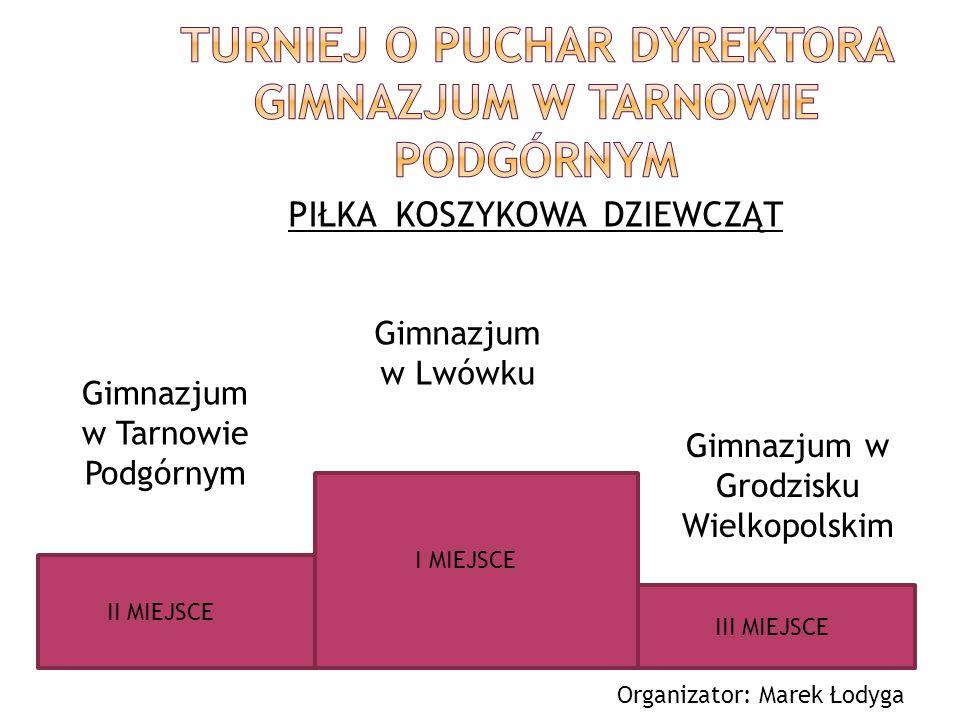 ROCZNIK 1994 II miejsce Wojciech Sykała kl.IIf IV miejsce Tomasz Augustyniak kl.