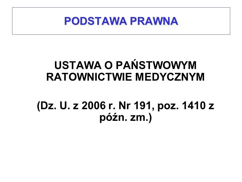 Numer rejonu operacyjnego Zasięg rejonu operacyjnegoLiczba i rodzaj zespołów ratownictwa medycznego Specjalistyczne SPodstawowe P 24/1powiat częstochowski, Częstochowa610 24/2powiat kłobucki12 24/3powiat lubliniecki21 24/4powiat będziński, gm.