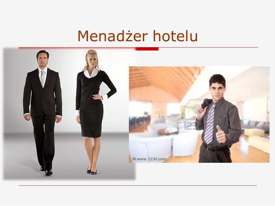 Menadżer hotelu
