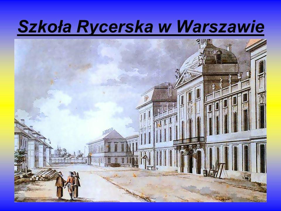 Szkoła Rycerska w Warszawie
