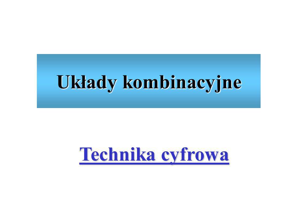 Zagadnienia Definicje Komutatory Konwertery kodów Sumatory, subtraktory Komparatory Generator bitu parzystości Jednostka arytmetyczno-logiczna Katedra Elektroniki AGH