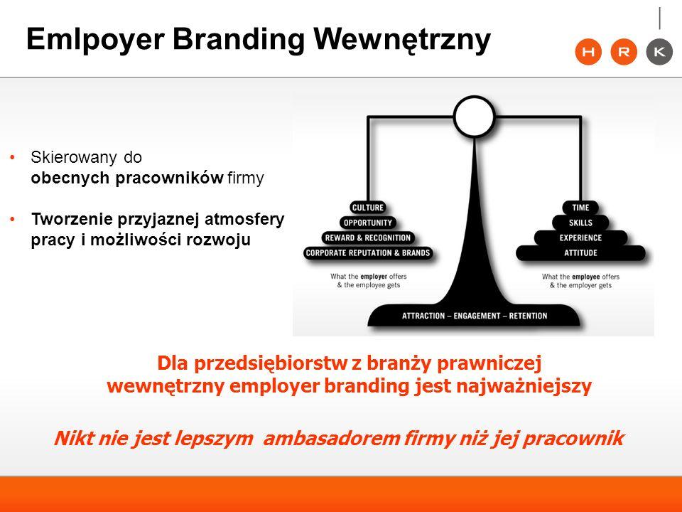 Emlpoyer Branding Wewnętrzny Dla przedsiębiorstw z branży prawniczej wewnętrzny employer branding jest najważniejszy Nikt nie jest lepszym ambasadorem