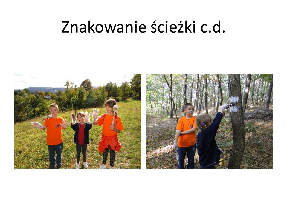 Znakowanie ścieżki c.d.