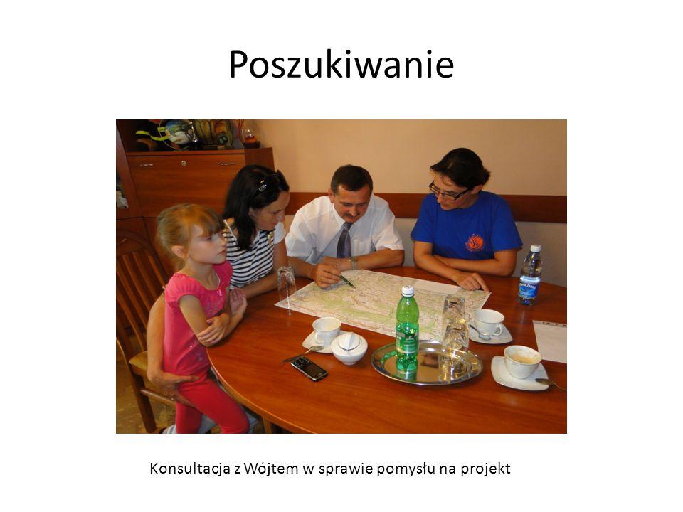 Poszukiwanie Konsultacja z Wójtem w sprawie pomysłu na projekt