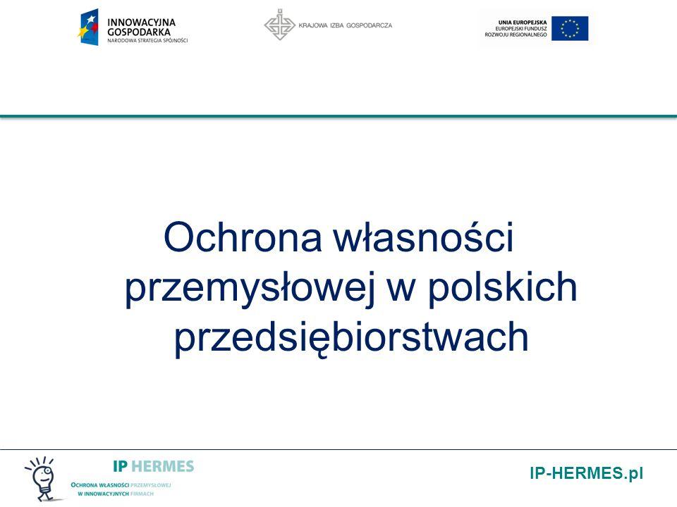 IP-HERMES.pl Ochrona własności przemysłowej w polskich przedsiębiorstwach