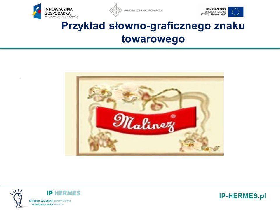 IP-HERMES.pl Przykład słowno-graficznego znaku towarowego.