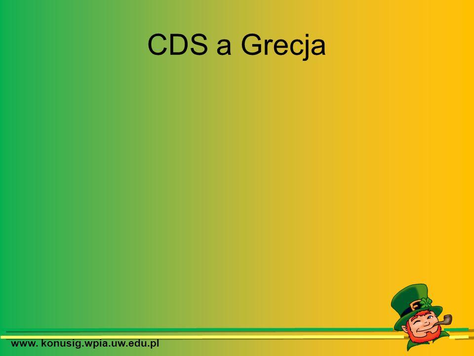 www. konusig.wpia.uw.edu.pl CDS a Grecja