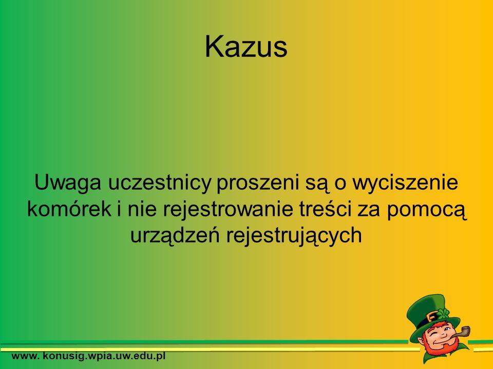 www.konusig.wpia.uw.edu.pl Charakter prawny 828 § 2 KC Za względnością regulacji M.Krajewski, J.