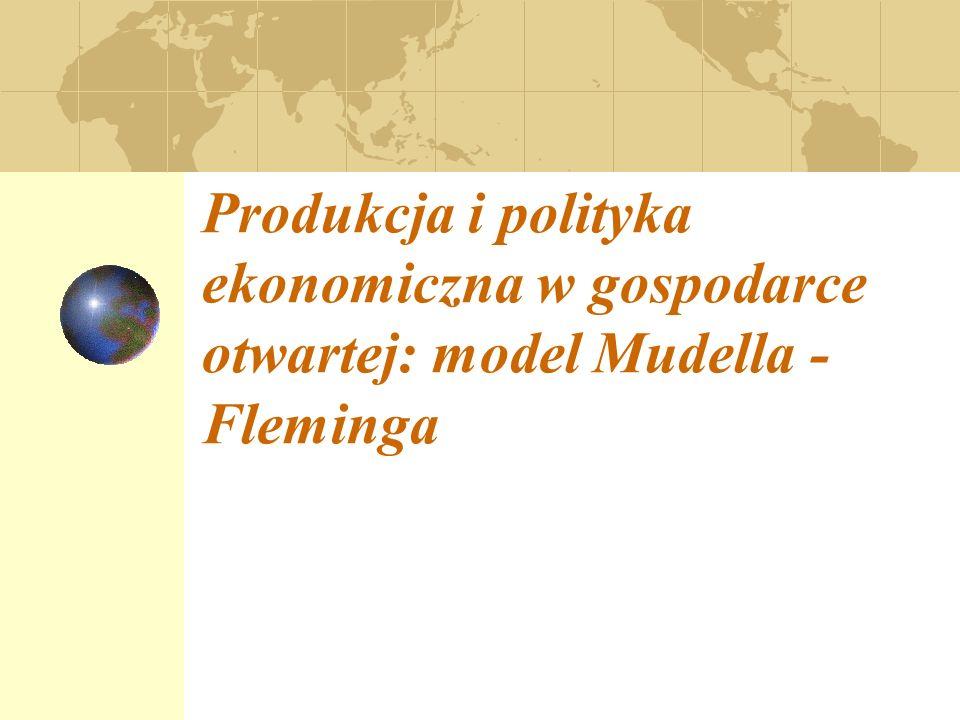 Model IS, LM, BP dla gospodarki otwartej w warunkach zmiennych kursów walutowych; Równowaga wewnętrzna i zewnętrzna w modelu Mundella – Fleminga; Polityka fiskalna i pieniężna w modelu Mundella – Fleminga w warunkach zmiennych kursów walutowych.