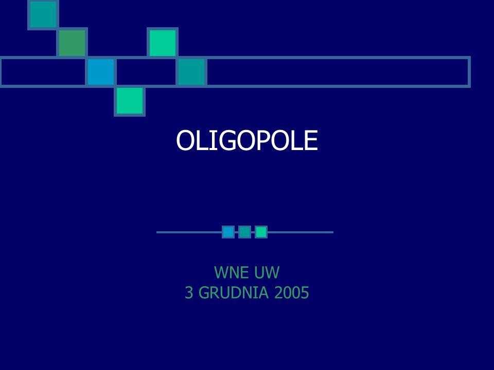 OLIGOPOLE WNE UW 3 GRUDNIA 2005