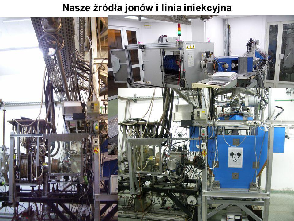 Jonowody Na wszystkich jonowodach zainstalowane są elementy ułatwiające prowadzenie w nich przyspieszonej wiązki ciężkich jonów do układu eksperymentalnego.