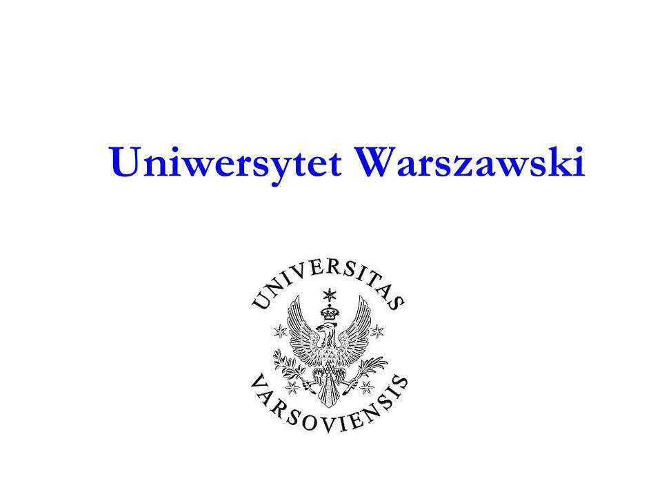 Paweł Stępień i Agata Wroczyńska Doświadczenia z wdrażania Krajowych Ram Kwalifikacji na Uniwersytecie Warszawskim w kontekście systemu zapewnienia i doskonalenia jakości kształcenia DOBRE PRAKTYKI W ZAPEWNIANIU I DOSKONALENIU JAKOŚCI KSZTAŁCENIA NA UNIWERSYTECIE WARSZAWSKIM 2012 15 czerwca 2012 2
