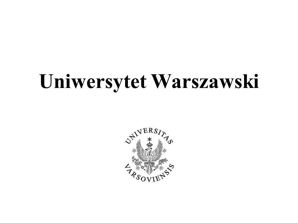 Informator UW – opisy przedmiotów Agata Wroczyńska Spotkanie z Prodziekanami ds..