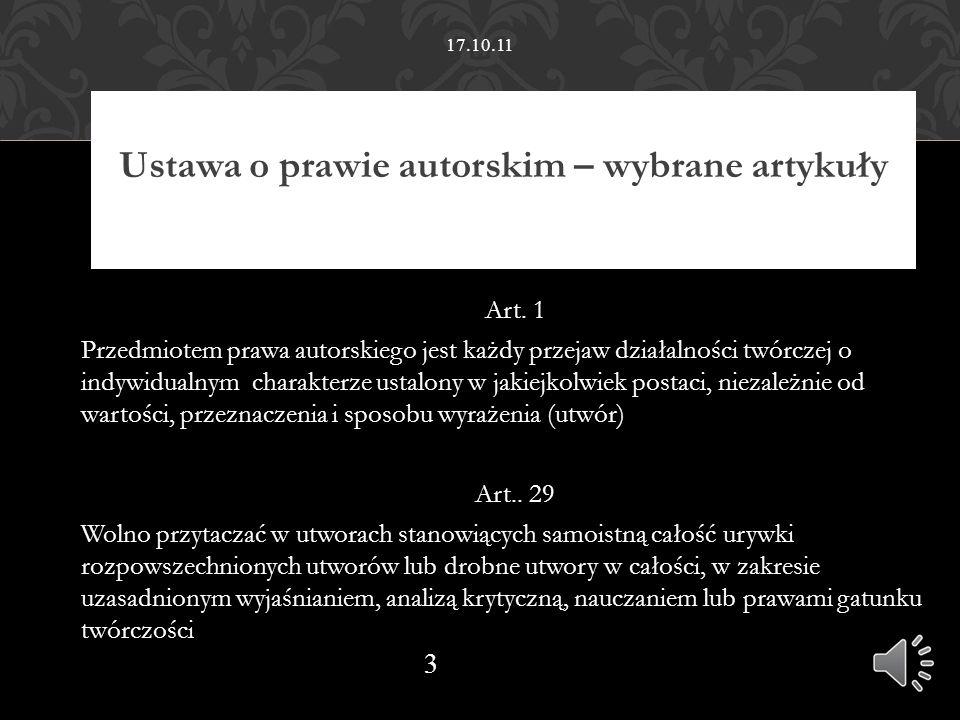Opis bibliograficzny artykułu Autor, autor, autor (wszyscy): Tytuł artykułu.