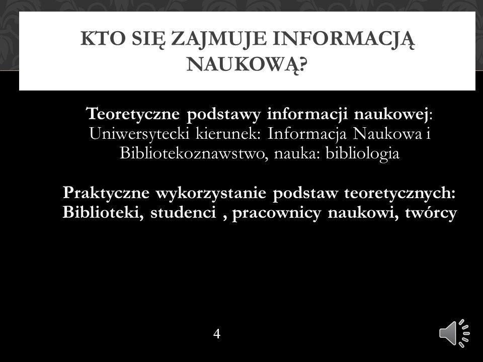 Opis bibliograficzny artykułu w czasopiśmie przykład nr 2 KOWALSKA, Anna: Jak napisać dobrą pracę licencjacką.