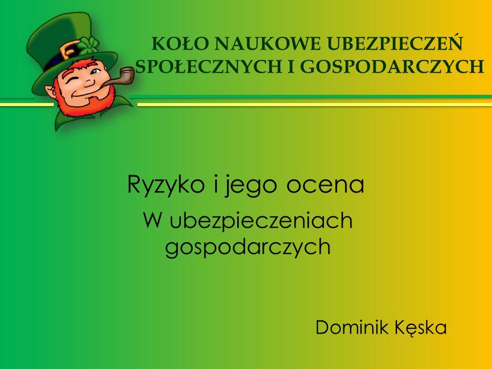 Pojęcia ryzyka www.